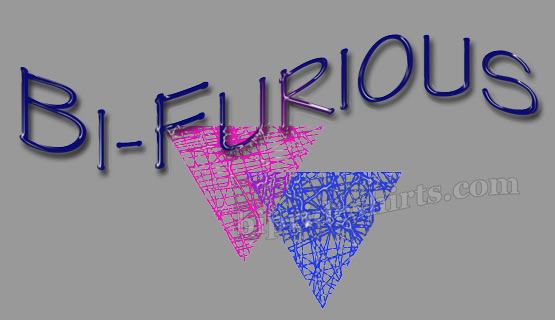 Bi Furious T shirt design
