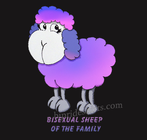 Bisexual sheep of the family