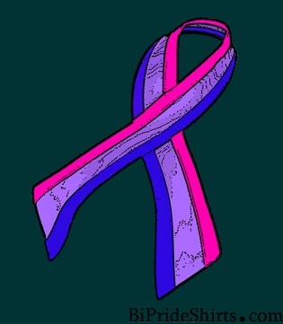 Bisexual Awareness Ribbon